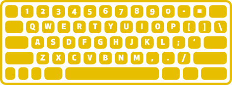 qwerty keyboard